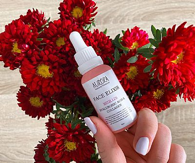 Aurora Face Elixir With 12% Hyaluronic Acid & Collagen 30ml