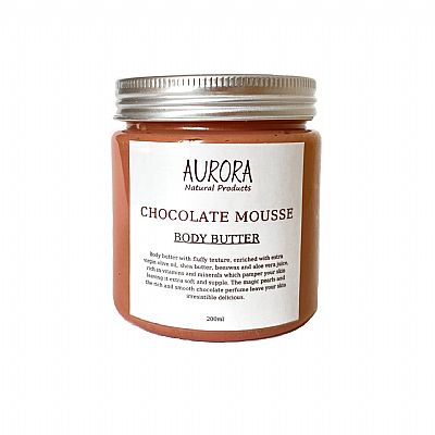 Aurora Chocolate Mousse Body Butter 200ml